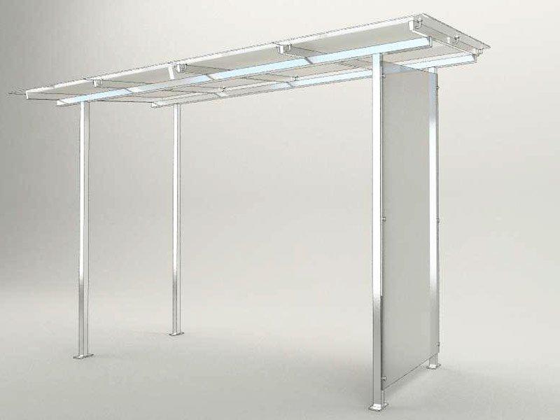 Проектирование навеса со стеклом