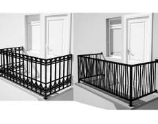Выбор ограждения балкона