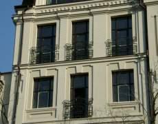 Французский балкон из ковки