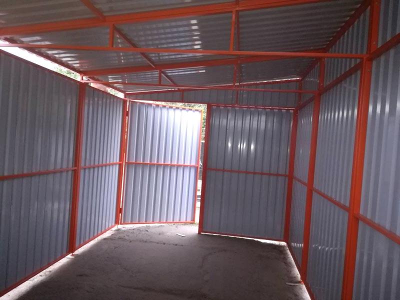 Фото складского ангара